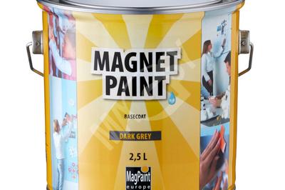 peinture magn tique vous pourrez transformer un simple mur en panneau mural magn tique magsy. Black Bedroom Furniture Sets. Home Design Ideas